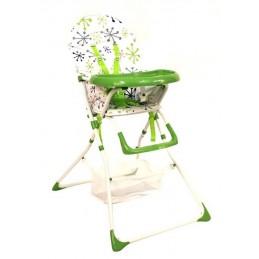 Krzesełko do karmienia ZIELONY