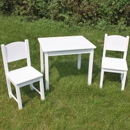 Zestaw stolik oraz 2...