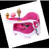 Mobilne krzesełko do karmienia różowe