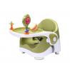 Mobilne krzesełko do karmienia zielone